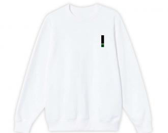 Crewneck White 02