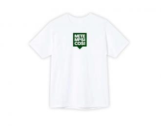 T-shirt White Square 02